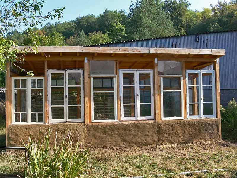 Les espaces de culture d 39 eloy abel sanchez - Plan de serre en bois et panneaux polycarbonate ...